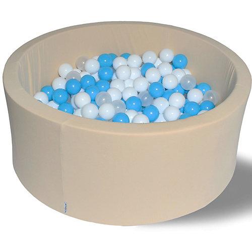 """Сухой бассейн Hotenok """"Ванильные облака"""" 40 см, 200 шариков от Hotenok"""