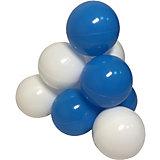 """Шарики для сухого бассейна Hotenok """"Облака"""" 50 шт, голубые и белые"""