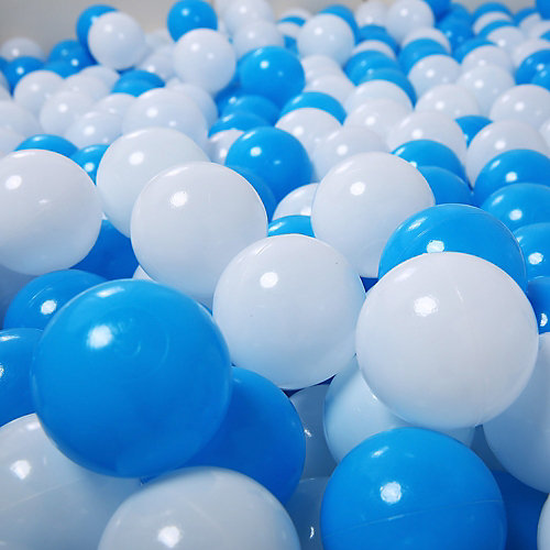 """Шарики для сухого бассейна Hotenok """"Облака"""" 50 шт, голубые и белые от Hotenok"""