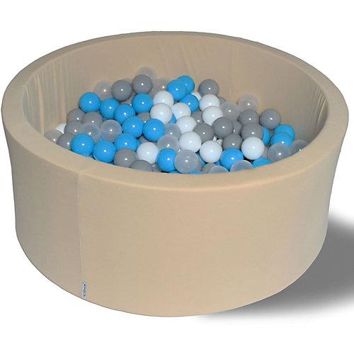 """Сухой бассейн Hotenok """"Брызги на песке"""" 40 см, 200 шариков от Hotenok"""