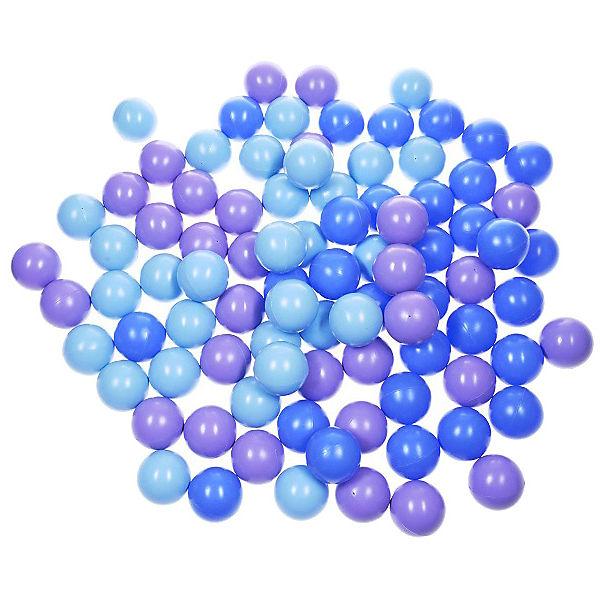 """Комплект шариков для сухого бассейна Hotenok """"Ночное небо"""" 100 шт, 3 цвета"""