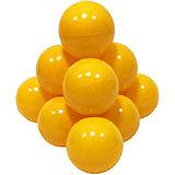 Шарики для сухого бассейна Hotenok 50 шт, 7 см, жёлтые