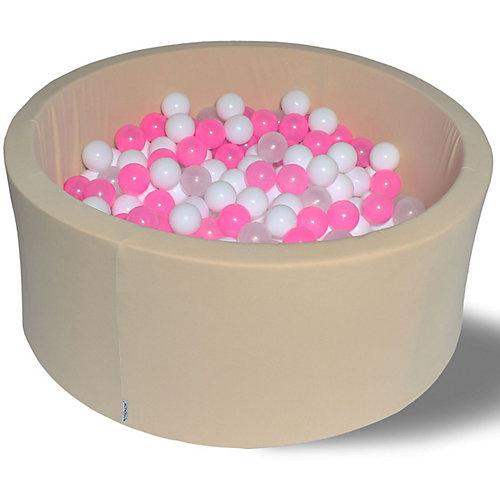 """Сухой бассейн Hotenok """"Жемчужное сияние"""" 40 см, 200 шариков от Hotenok"""