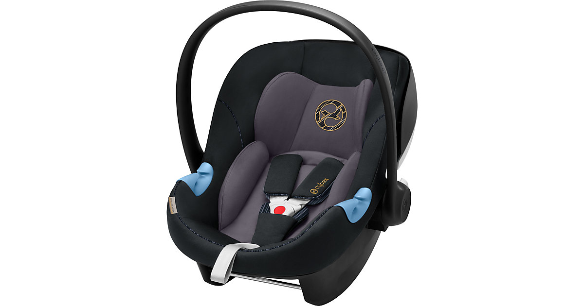 Cybex · Babyschale Aton M i-Size, Gold-Line, Premium Black, 2019 Gr. 0-13 kg