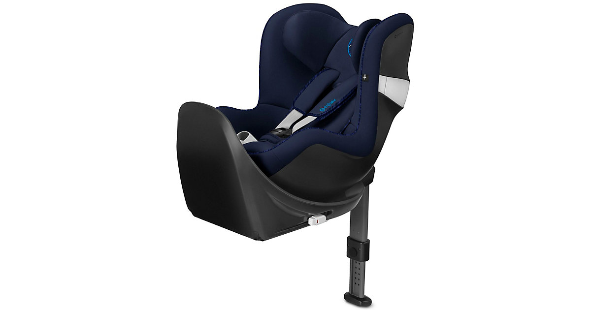 Cybex · Auto-Kindersitz Sirona M2 i-Size inkl. Base M, Gold-Line, Indigo Blue, 2019 Gr. 0-18 kg