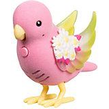 """Интерактивная птичка Moose """"Little Live Pets"""" Яркий Цветок, со светящимися крылышками"""