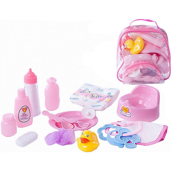 """Набор аксессуаров для куклы  в сумке  Mary Poppins """"Уроки заботы"""""""