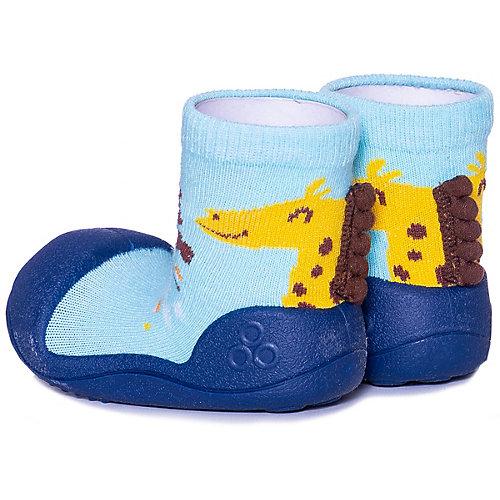Тапочки Attipas Giraffe для мальчика - синий от Attipas