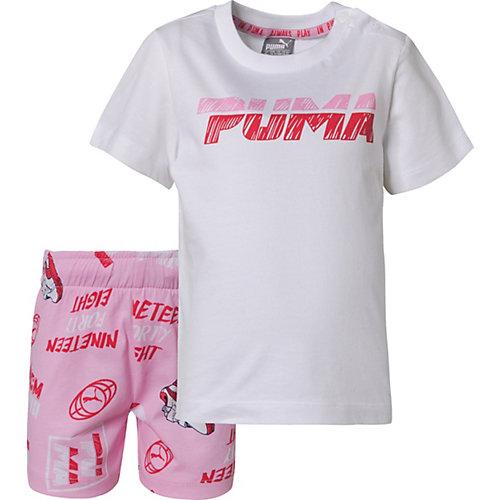 PUMA Baby Summer Set MINICATS Gr. 74 Mädchen Baby   04060978241504