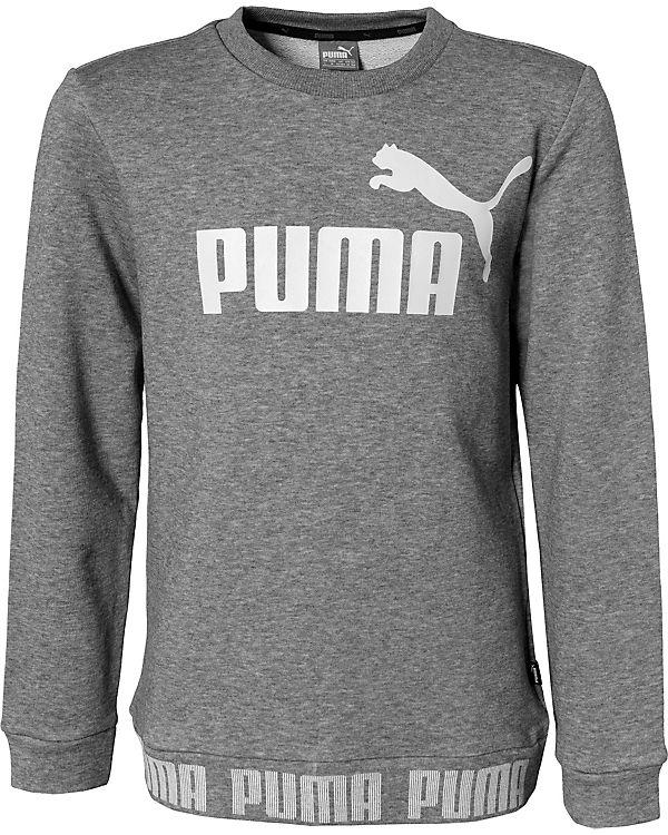 klassische Schuhe größte Auswahl Detaillierung Sweatshirt AMPLIFIED CREW für Jungen, PUMA