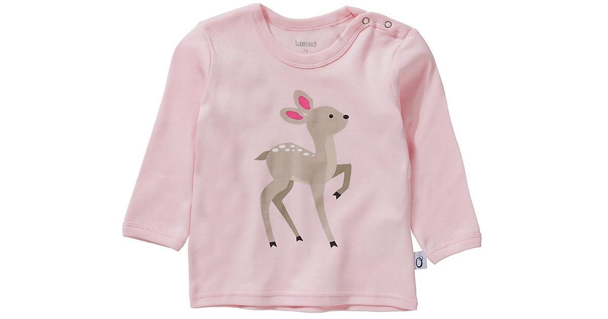 Baby Langarmshirt  rosa Gr. 56 Mädchen Baby