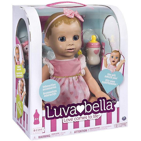 Интерактивная кукла Spin Master Luvabella