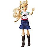 """Кукла Equestria Girls """"Девочки Эквестрии"""" Эплджек, 28 см"""