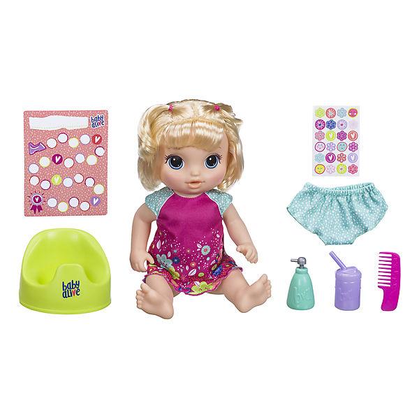 """Интерактивная кукла Baby Alive """"Танцующая Малышка"""", блондинка"""