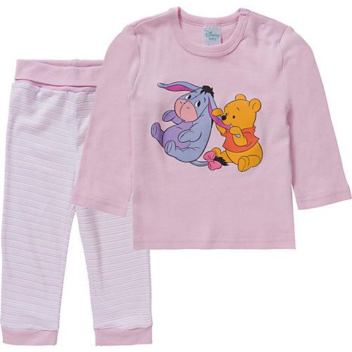 Disney Winnie Puuh Baby Schlafanzug Gr. 86/92 Mädchen Kleinkinder | 04049118524400